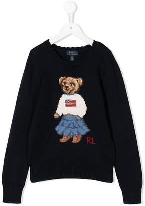 Ralph Lauren Bear knit jumper