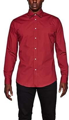 Esprit Men's 107eo2f005 Formal Shirt,(Manufacturer Size: -38)