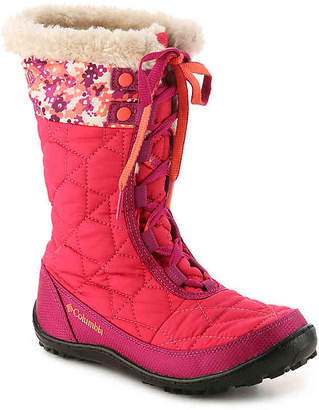 Columbia MINX MID II Youth Snow Boot - Girl's