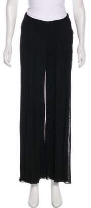 Ralph Lauren Purple Label Pleated Wide-Leg Pants