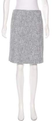 Brooks Brothers Tweed Knee-Length Skirt