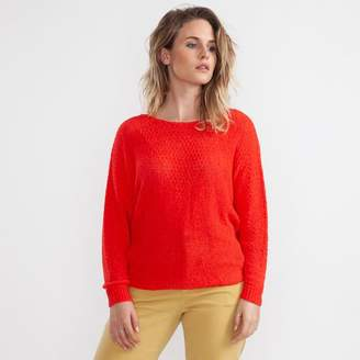 Indi & Cold - Poppy Knitted Jumper - Large - Red