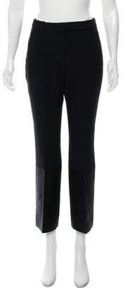 Alexander McQueen High-Rise Wide-Leg Pants