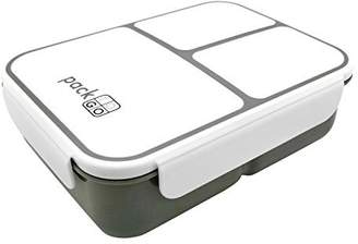 PackTOGO Leakproof XL Bento Lunch Box - Extra Large (Gray)