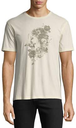 John Varvatos Men's Floral Graphic T-Shirt