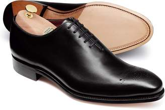 Black Wholecut Shoe Size 11 by Charles Tyrwhitt
