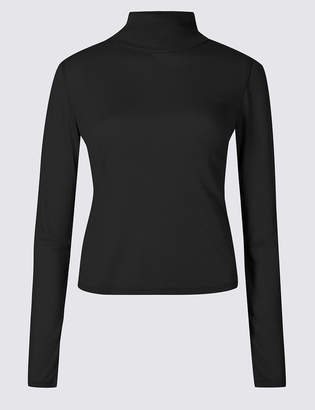 Limited Edition Funnel Neck Long Sleeve T-Shirt