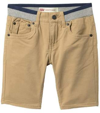 Levi's Slim Fit Pull-On Shorts (Big Boys)