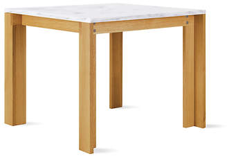 Design Within Reach Mapp Table, Small, White/honed