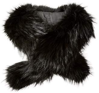 Rudsak Women's Spiritwood Fur Collar Scarf with Clips