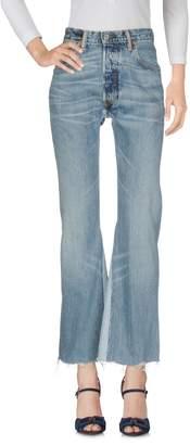 Levi's RE/DONE by Denim pants - Item 42671904