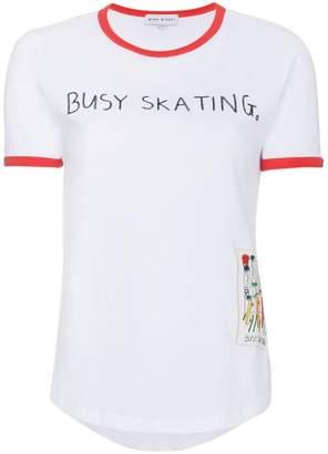 Mira Mikati Busy Skating t shirt