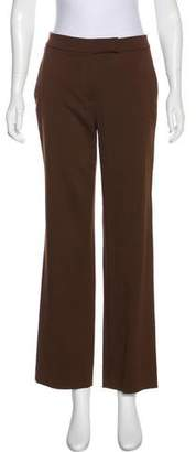Salvatore Ferragamo High-Rise Wool Pants