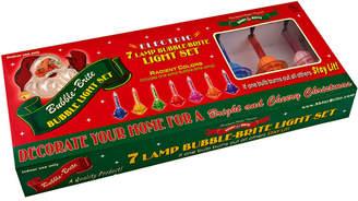 Christopher Radko Shiny Brite 7 Lamp Bubble Brite Light Set
