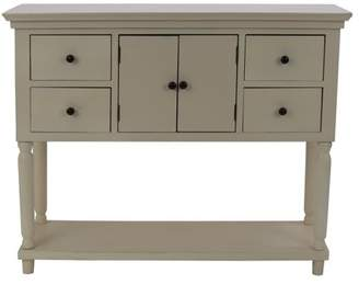 Decor Therapy Taylor Four Drawer Console Table