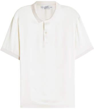 Alexander McQueen Silk Polo Shirt