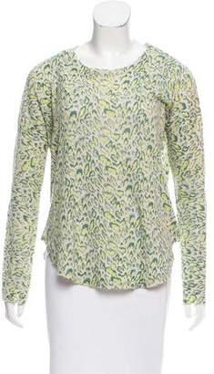 Zadig & Voltaire Leopard Cashmere Sweater