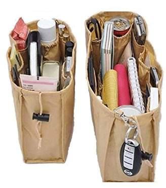 Sales Igia New Inserts For Bag Purse Organizer, 2 Units, Baige
