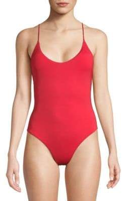 Dolce Vita One-Piece Ring Swimsuit