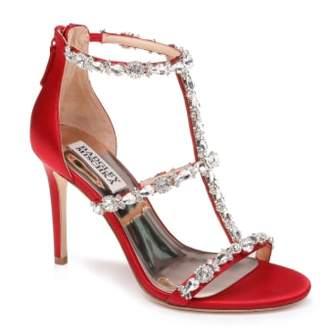 Badgley Mischka Querida Embellished Sandal