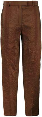 Nina Ricci cropped straight trousers