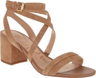 Sam Edelman Ankle Strap Block Heel Sandal - Sammy
