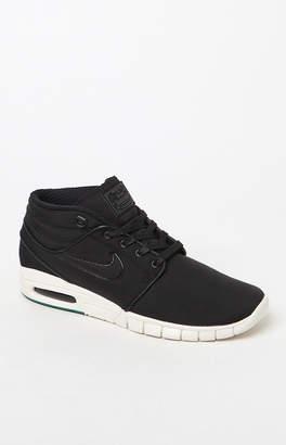 New Balance Nike Sb Stefan Janoski Max Mid Black & Green Shoes