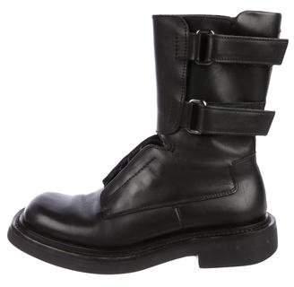 Prada Leather Tall Boots