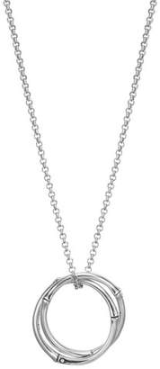John Hardy Bamboo Link-Pendant Necklace