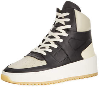 Fear Of God Men's Two-Tone Leather High-Top Basketball Sneakers