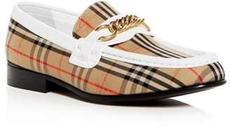 Burberry Women's Moorley 1983 Check Link Loafers