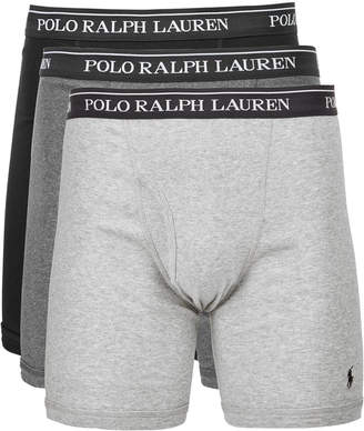 Polo Ralph Lauren Men's 3-Pk. Classic Cotton Boxer Briefs
