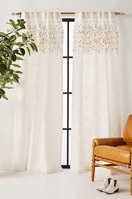 Macrame Tasseled Curtain