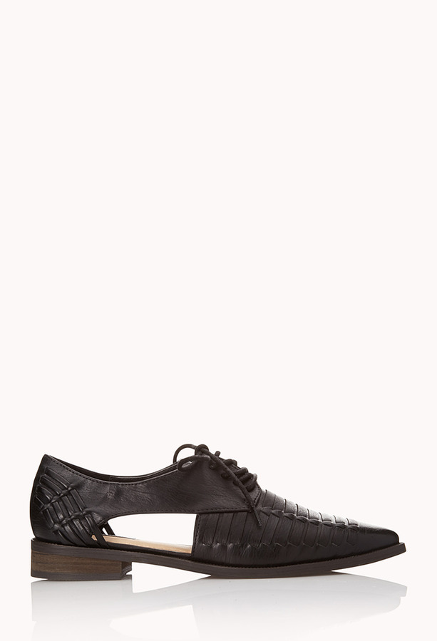 Forever 21 Clear Cut Oxfords