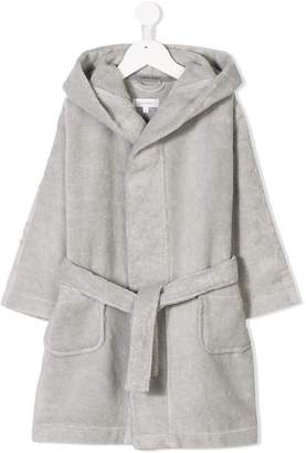 Calvin Klein Kids hooded bathrobe