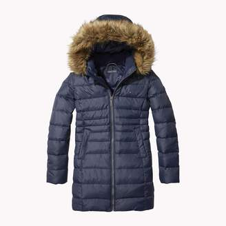 Tommy Hilfiger TH Kids Long Down Puffer Coat