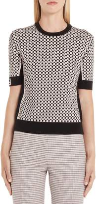 Fendi Romantic Tile Pattern Sweater