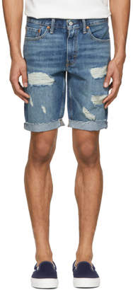 Levi's Levis Blue Denim Cut-Off 511 Shorts
