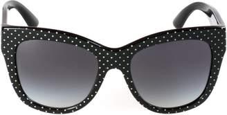 Dolce & Gabbana Polka Dot Sunglasses