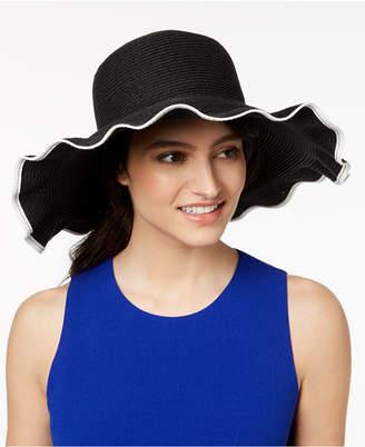 38f017b2765 at Macy s · Nine West Packable Ruffle Floppy Sun Hat