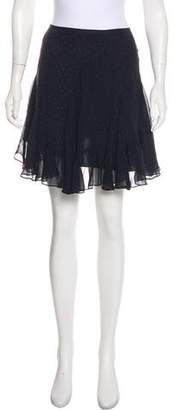 Club Monaco Polka Dot Mini Skirt