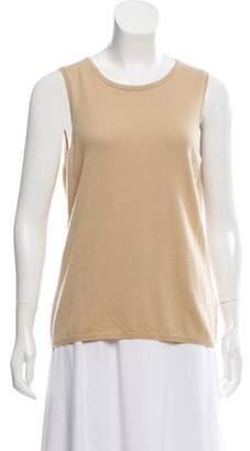 Malo Cashmere Sleeveless Sweater w/ Tags