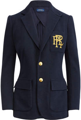 Ralph Lauren Knit Cotton Blazer