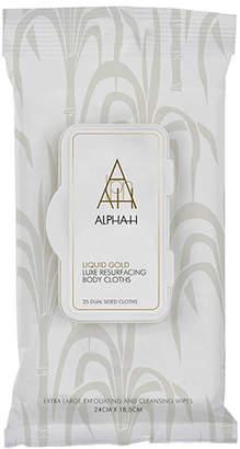 Alpha-h Liquid Gold Luxe Body Resurfacing Cloths