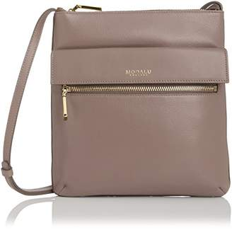 Modalu Women's Erin Cross-Body Bag Mink