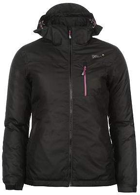 Gelert Womens Horizon Insulated Jacket Coat Top Waterproof Breathable Hooded Zip