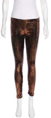 Faith Connexion Sequined Mid-Rise Leggings w/ Tags