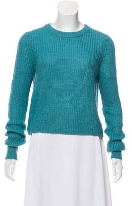 Rebecca Minkoff Ribbed Crew Neck Sweater