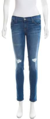 Rebecca Minkoff Mid-Rise Skinny Jeans