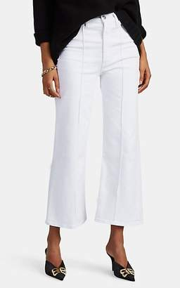 3x1 Women's Nicolette Wide-Leg Crop Jeans - White